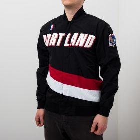 Type Jackets Mitchell & Ness NBA Portland Trail Blazers Authentic Warm Up Jacket