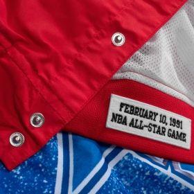 Type Jackets Mitchell & Ness NBA All-Star West 1991 Warm Up Jacket