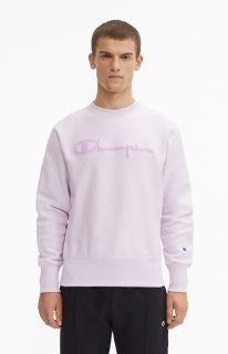 Type Hoodies Champion Logo Sweatshirt