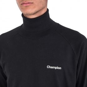 Type Shirts Champion Black 'C' Collection Reverse Weave Turtle Neck