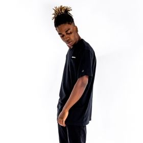 Type Shirts Champion Black 'C' Collection Reverse Weave T-Shirt