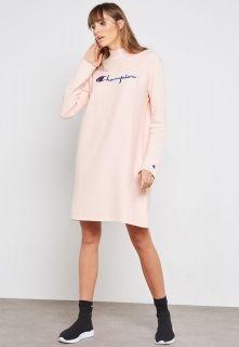 Type Skirts / Dresses Champion Wmns Logo Oversized Reverse Weave Mini Sweater Dress