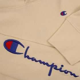 Type Hoodies Champion Wmns Logo Oversized Fit Cropped Reverse Weave Hoodie