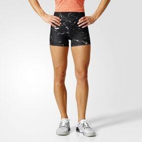 Къси панталони adidas WMNS Marble High Waisted Shorts