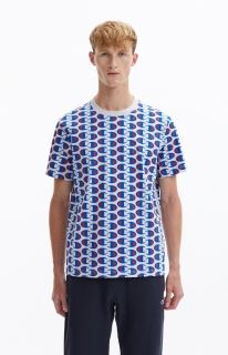 Type Shirts Champion Allover C Logo Print Crew Neck T-Shirt