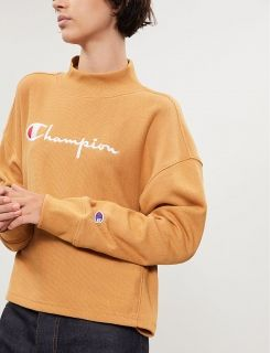 Type Hoodies Champion Wmns High Neck Sweatshirt