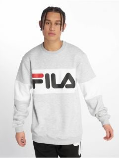 Type Hoodies Fila Straight Blocked Crew Sweatshirt