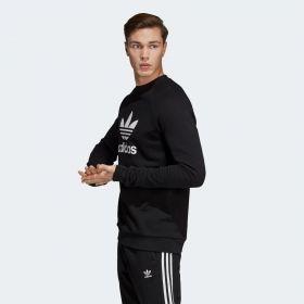 Type Hoodies adidas Originals Trefoil Warm Up Crew Sweatshirt