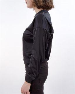 Type Hoodies Fila Wmns Justyna Buttoned Crew Sweatshirt