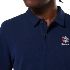 Type Shirts Reebok Classics Foundation Polo Tee