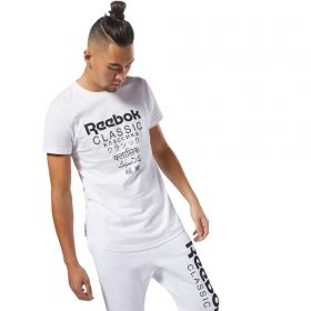 Type Shirts Reebok Classics Unisex Short Sleeve Extended Tee