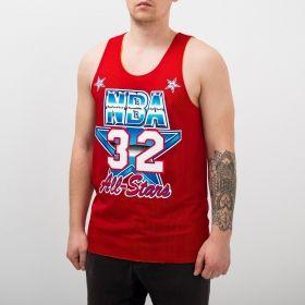 Type Shirts Mitchell & Ness NBA Los Angeles Lakers/All-Star 1991 Magic Johnson Reversible Mesh Tank