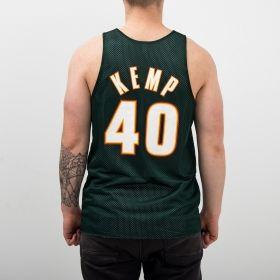 Type Shirts Mitchell & Ness NBA Seattle SuperSonics/All-Star 1996 Shawn Kemp Reversible Mesh Tank