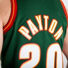 Type Shirts Mitchell & Ness NBA Seattle Supersonics Gary Payton 1995-96 Road Swingman Jersey