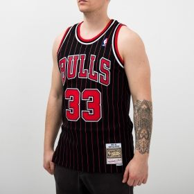 Type Shirts Mitchell & Ness NBA Chicago Bulls Scottie Pippen 1995-96 Alternate Swingman Jersey