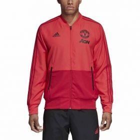 Type Hoodies adidas Manchester United 2018/19 Presentation Jacket
