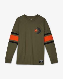 Type Shirts Converse Star Chevron Football Jersey