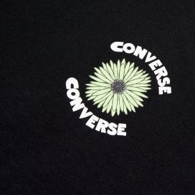 Type Shirts Converse Floral Skull Tee