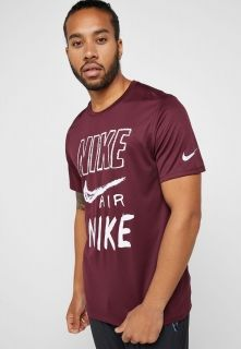 Type Shirts Nike Breathe Graphic Running Top