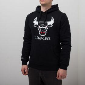 Type Hoodies Mitchell & Ness NBA Chicago Bulls Team Logo Hoody