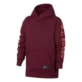 Type Hoodies Nike FC Barcelona Pullover Hoodie