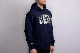 Суичър Mitchell & Ness NBA Cleveland Cavaliers Black And White Logo Hoody