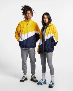 Type Jackets Nike Sportswear Swoosh Woven Windbreaker