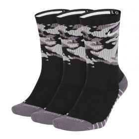 Type Socks Nike Cushion Camo Crew Socks (3 Pack)