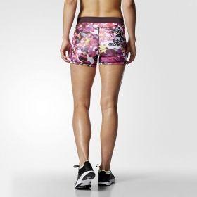 Къси панталони adidas WMNS Techfit 3 Inch Floral Shorts