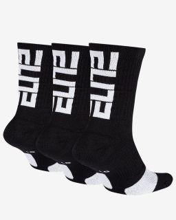 Type Socks Nike Elite Crew Basketball Socks (3 Pack)