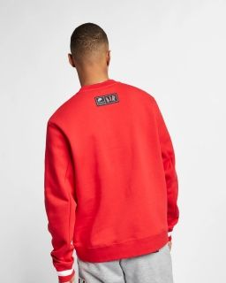 Type Hoodies Nike Air Fleece Crew Sweatshirt