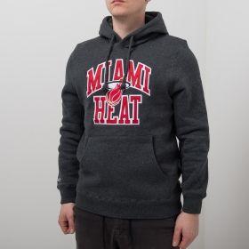 Type Hoodies Mitchell & Ness NBA Miami Heat Playoff Win Hoody