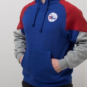 Type Hoodies Mitchell & Ness NBA Philadelphia 76ers Trading Block Hoody