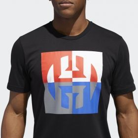 Type Shirts adidas Harden Logo Tee