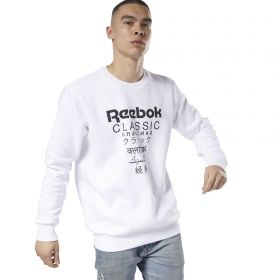 Type Hoodies Reebok Classics Unisex Fleece Crew Sweatshirt