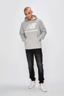Type Hoodies New Balance Essentials Brushed Pullover Hoodie