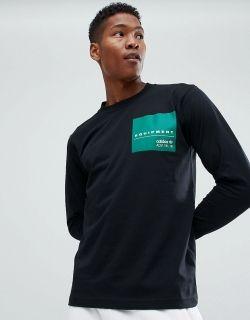 Type Shirts adidas EQT Long Sleeve Graphic Tee