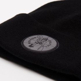 Type Caps Mitchell & Ness HWC Boston Celtics Reflective Logo Knit Beanie