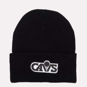 Type Caps Mitchell & Ness HWC Cleveland Cavaliers Reflective Logo Knit Beanie