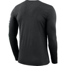 Type Shirts Nike NBA Boston Celtics Dri-FIT Long-Sleeve Logo Tee