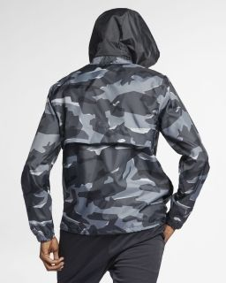 Type Jackets Nike Sportswear Hooded Camo Jacket