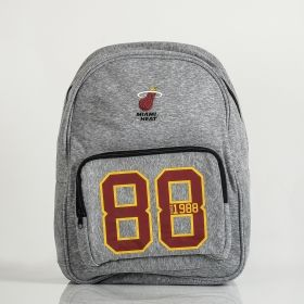 Type Backpacks Forever Collectibles NBA Miami Heat Established Backpack