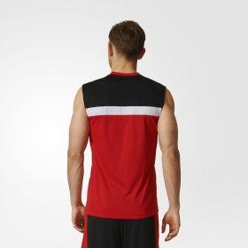 Тениска adidas NBA Chicago Bulls Winter Hoops Reversible Jersey