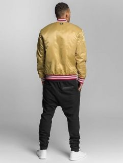 Ecko Unltd. / Bomber jacket Shinning Star in gold colored
