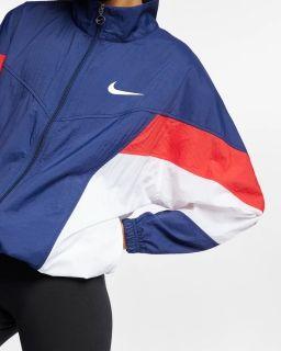 Type Jackets Nike Wmns Sportswear Throwback Windrunner