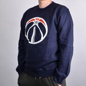 Суичър Mitchell & Ness Washington Wizards Team Logo Crewneck