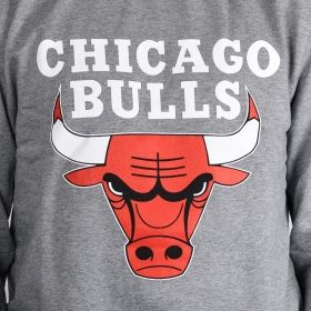 Суичър Mitchell & Ness Chicago Bulls Team Logo Crewneck