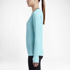 Суичър Nike WMNS Dri-Fit Knit Long Sleeve