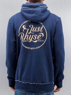 Just Rhyse / Zip Hoodie MMXII in blue