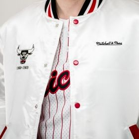Яке Mitchell & Ness NBA Chicago Bulls Satin Jacket